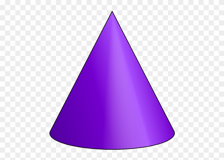 3d triangle clipart clip royalty free Cone 3 D Shape - 3d Shapes Of Cone Clipart (#947257) - PinClipart clip royalty free