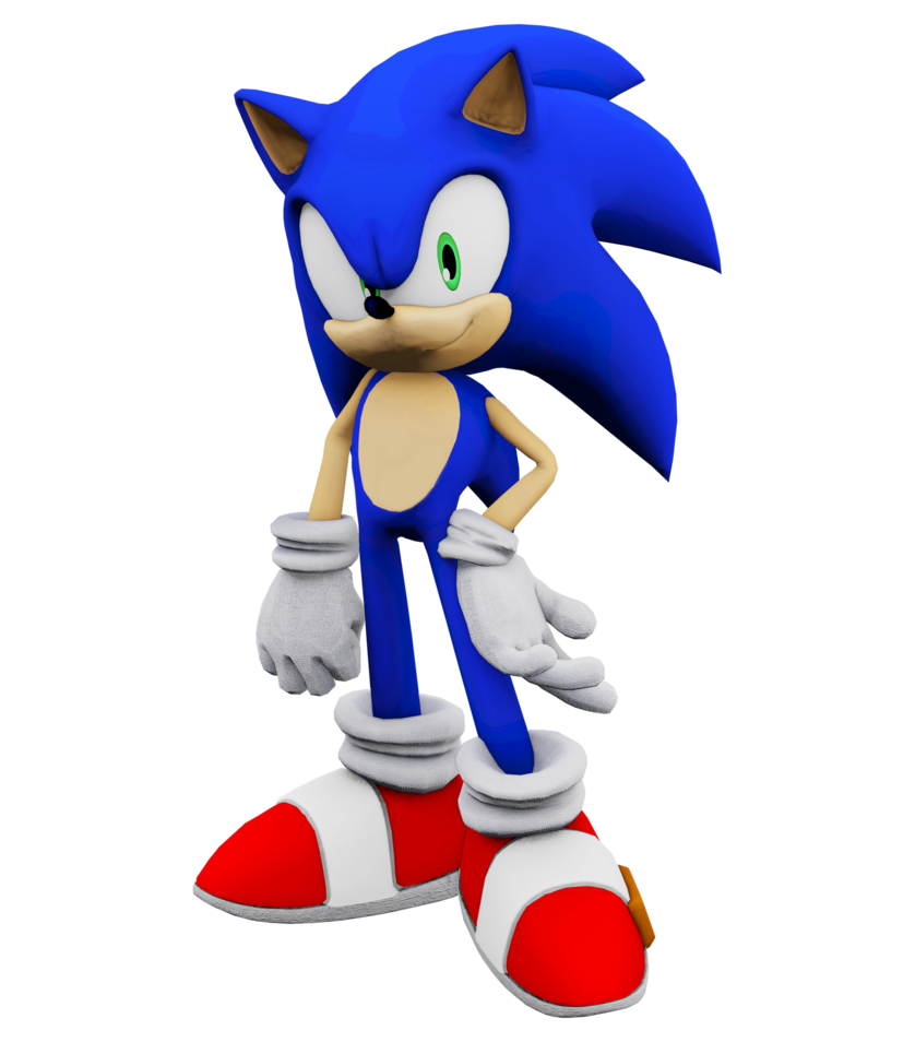 3DS Max 2018] Casual Sonic render by SonicBoom13561 on DeviantArt banner