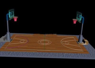 Basketball Court Cartoon | Free Download Clip Art | Free Clip Art ... royalty free
