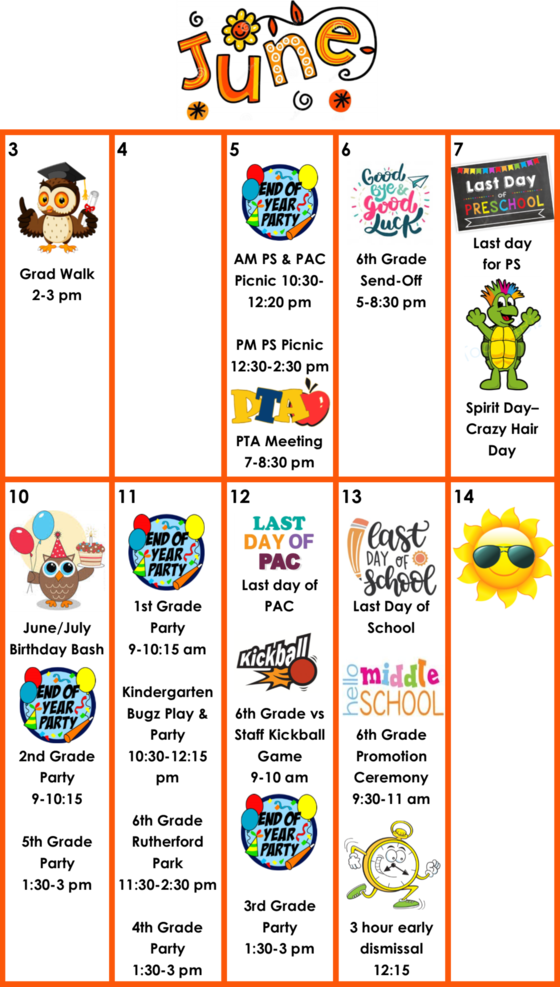 3-hour early dismissal clipart png transparent Little Run Weekly News: 5/31/19 png transparent