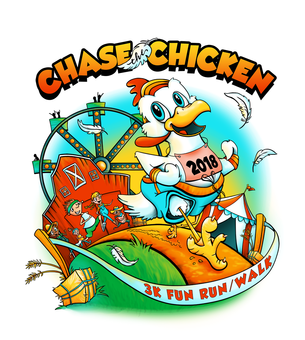 3k fun run clipart free jpg free stock Chase the Chicken 3K Fun Run/Walk - DelmarvaLife jpg free stock