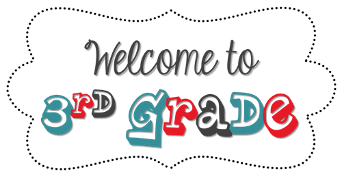 3rd grade clipart banner black and white stock Seeger, Karly (3rd Grade) / Class Homepage banner black and white stock