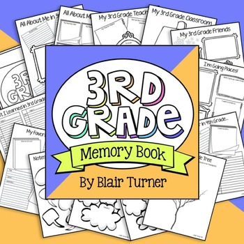 3rd grade memories clipart clipart transparent library End of the Year Memory Book - 3rd Grade clipart transparent library