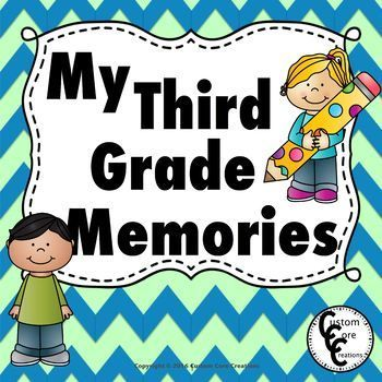 3rd grade memories clipart black and white Memory Book | All the Latest, Greatest TPT Products | Memory books ... black and white
