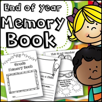 3rd grade memories clipart graphic transparent library End Of Year Memory Book graphic transparent library