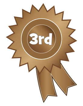 1st 2nd 3rd Place Ribbon Clipart - Clip Art Library black and white library