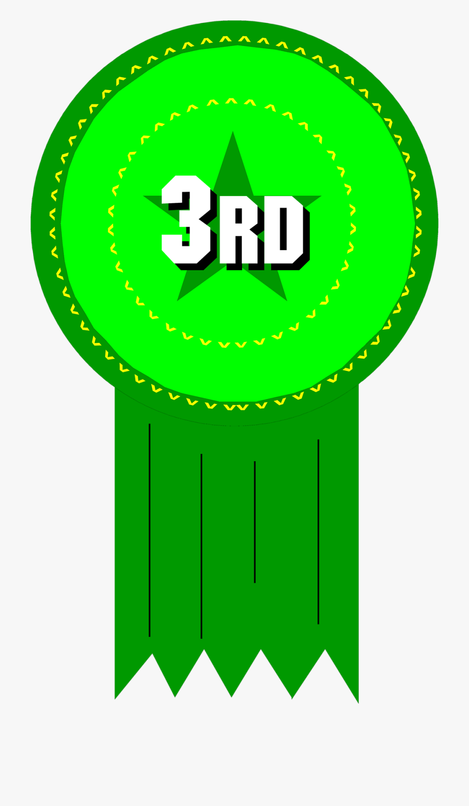 Free Stock Photo - 3rd Place Ribbon Clipart #466571 - Free Cliparts ... png library