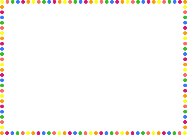 Dotted border clipart clip royalty free stock Dot Border Cliparts - Cliparts Zone clip royalty free stock