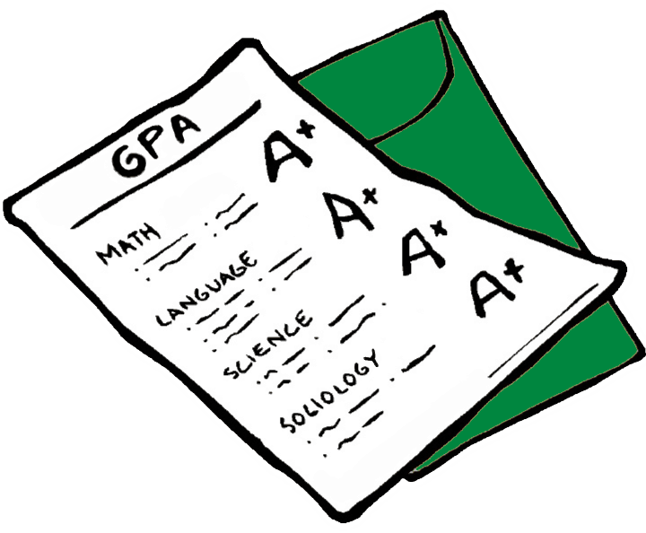 4 0 gpa clipart clip free stock Unweighted vs. Weighted GPA: What\'s the Difference? • Love the SAT ... clip free stock