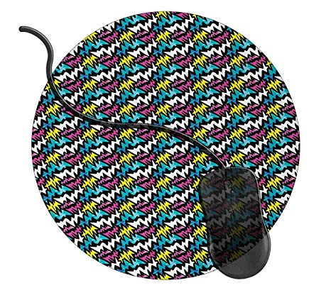 4 7 inch circle clipart graphic free stock Amazon.com : MISQY Round Gaming Mouse Pad Graffiti Custom Design, 7 ... graphic free stock