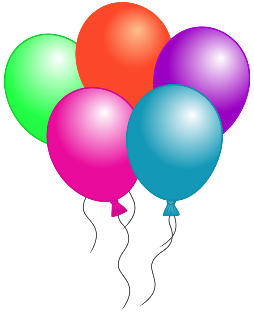 Birthday balloons clipart images graphic royalty free download Free Birthday Balloon Clip Art Free Clipart Images | balloons ... graphic royalty free download