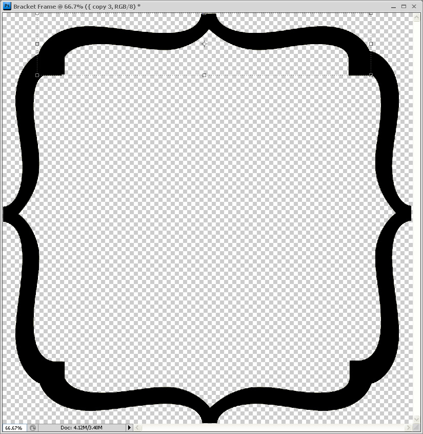 Fancy text box clipart