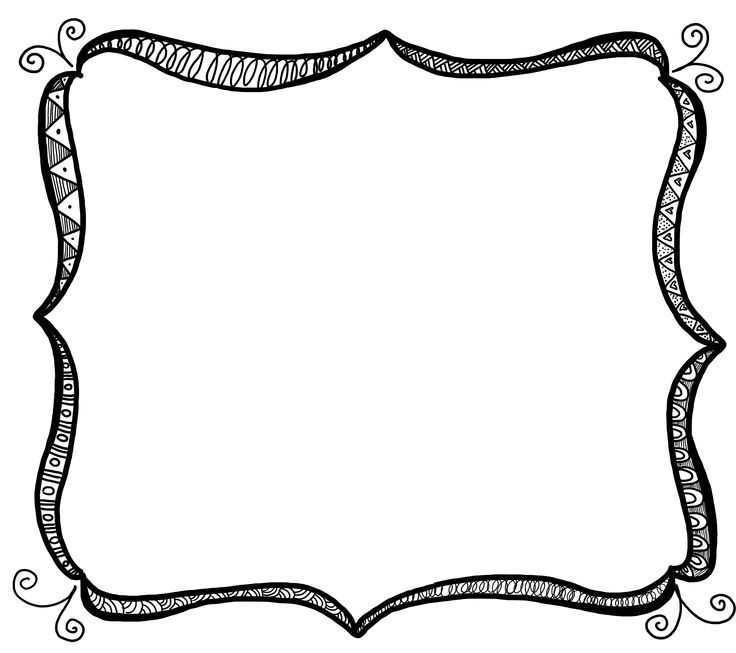4 box frame clipart image free Box clipart doodle, Box doodle Transparent FREE for download on ... image free