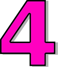 kid number images. 4 clipart