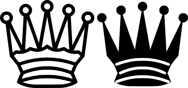 Chess Queen Crown clip art (107166) Free SVG Download / 4 Vector picture transparent