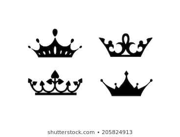 Queen crown clipart black and white 4 » Clipart Portal picture download