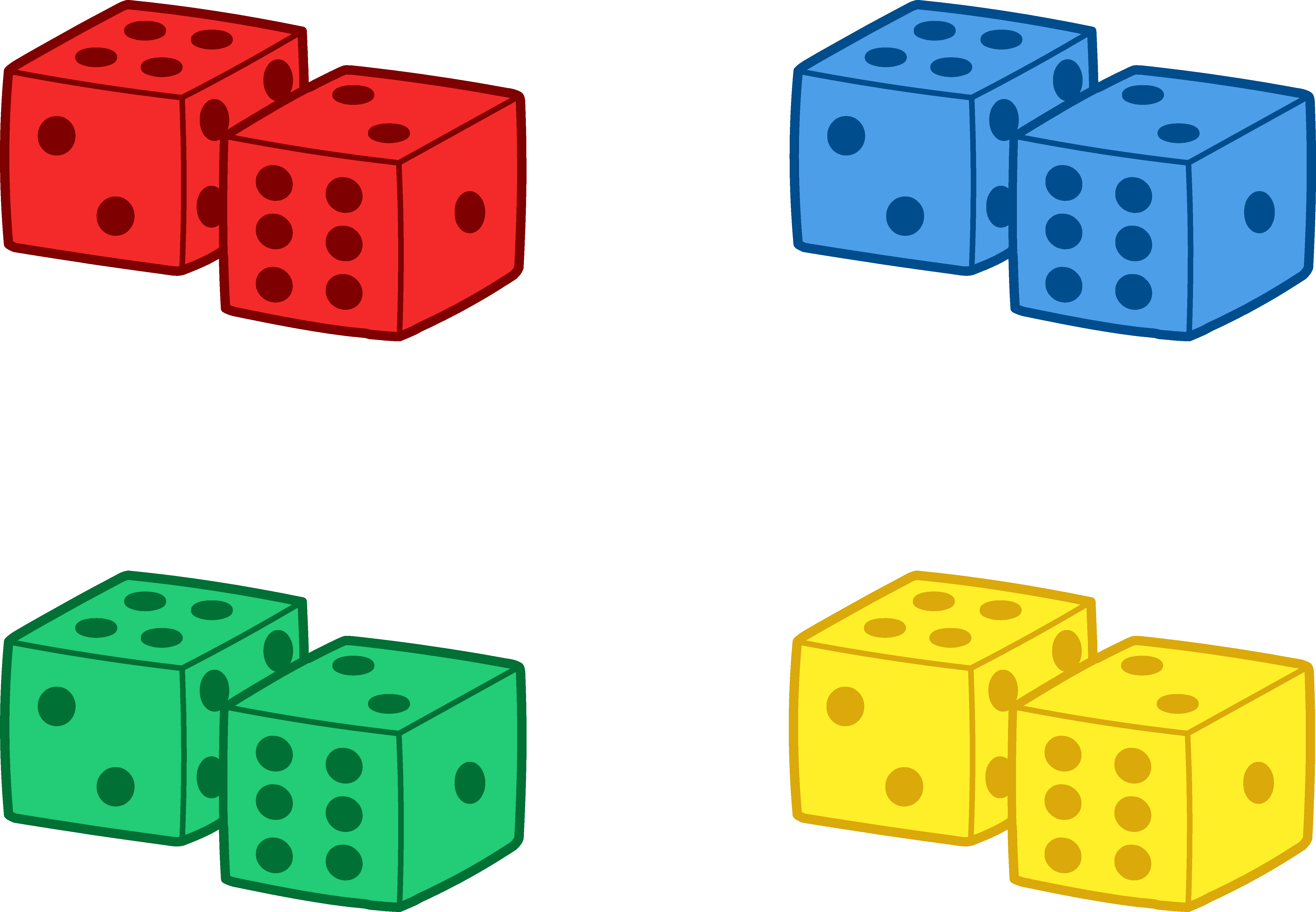 4 dice clipart clipart clip art free library 4 Dice Clipart - Clip Art Library clip art free library