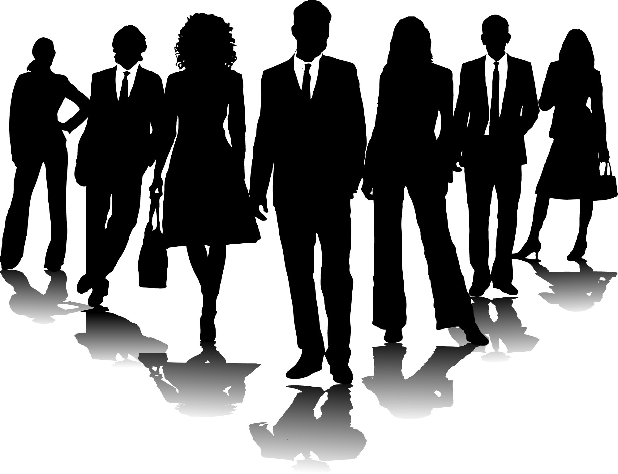 Employee clipart black and white 4 » Clipart Portal picture transparent stock
