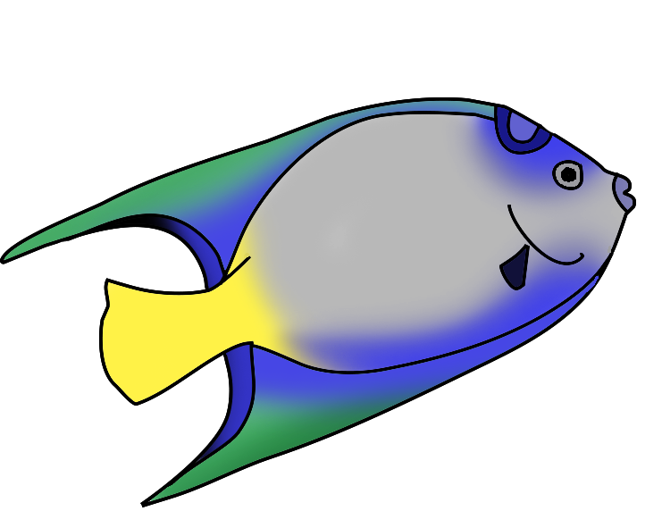 4 fishes clipart picture black and white stock Fish Clipart | Free download best Fish Clipart on ClipArtMag.com picture black and white stock