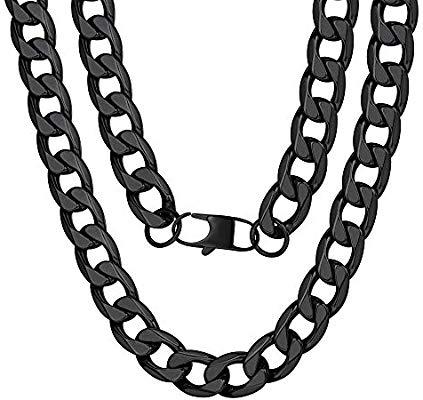 4 link chain clipart banner transparent ChainsPro Men 4/6/9/13mm Cuban Link Chain,Hip Hop Jewelry,316L ... banner transparent