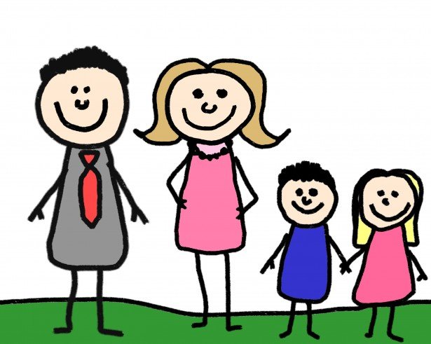 4 person family clipart banner library stock Free Stick Figure Family Pictures, Download Free Clip Art, Free Clip ... banner library stock