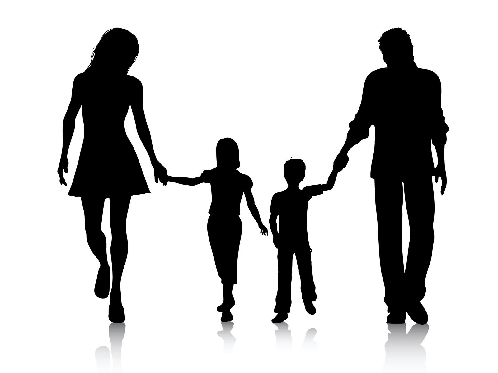 Family clipart 5 people