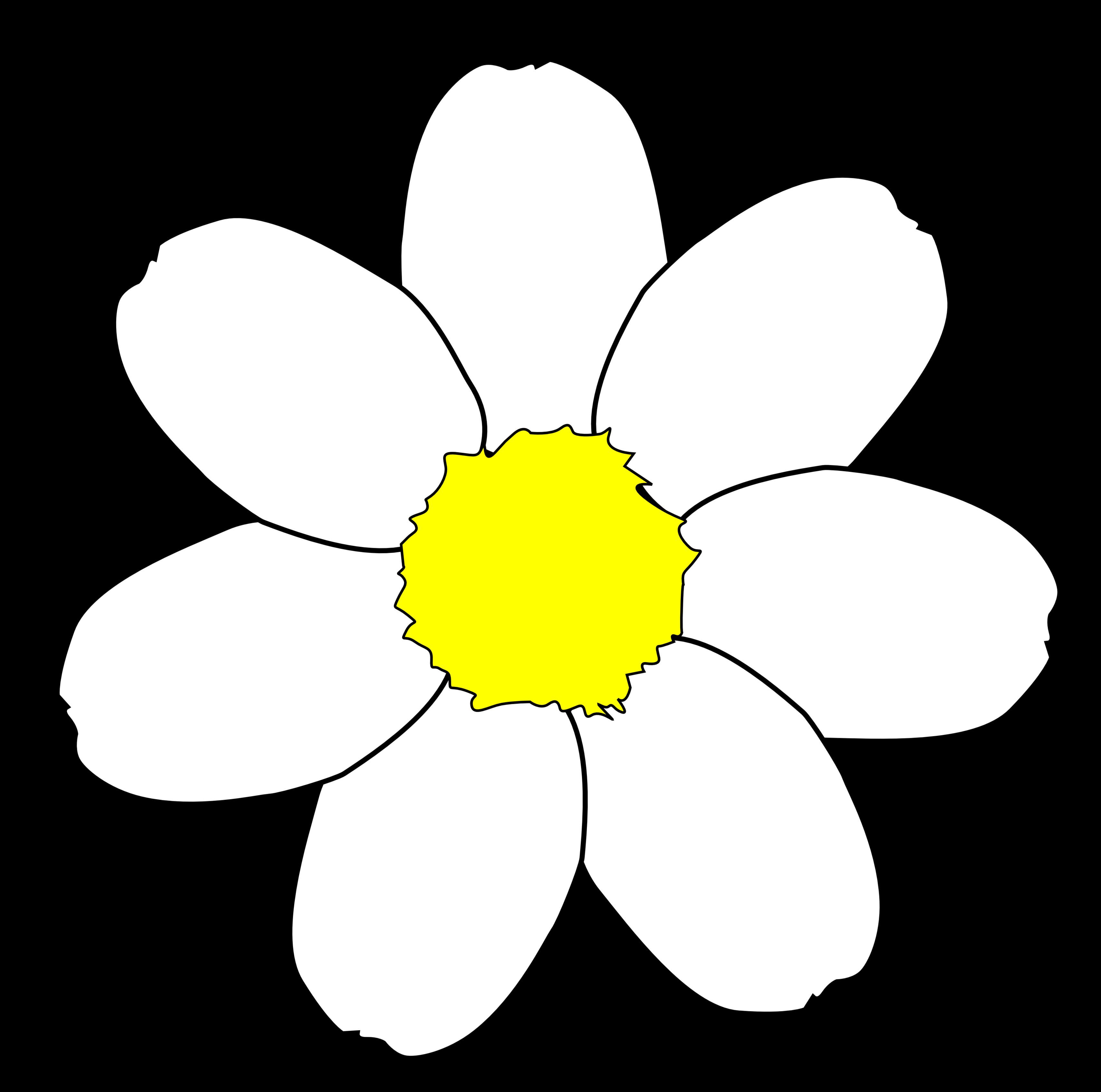 Spanish flower clipart svg freeuse download Flower Petal Clipart (61+) svg freeuse download