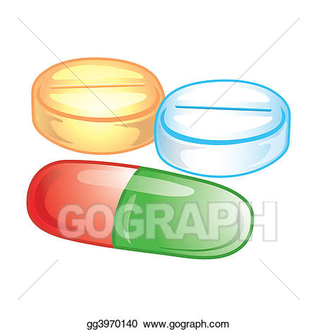4 pills clipart image black and white library Stock Illustrations - Pills icon. Stock Clipart gg3970140 - GoGraph image black and white library
