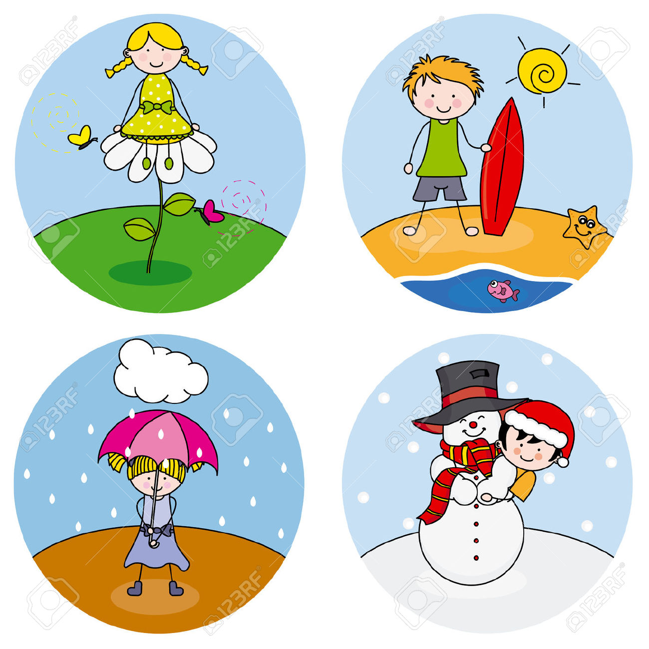 4 seasons images clipart png royalty free library Free Four Seasons Cliparts, Download Free Clip Art, Free Clip Art on ... png royalty free library
