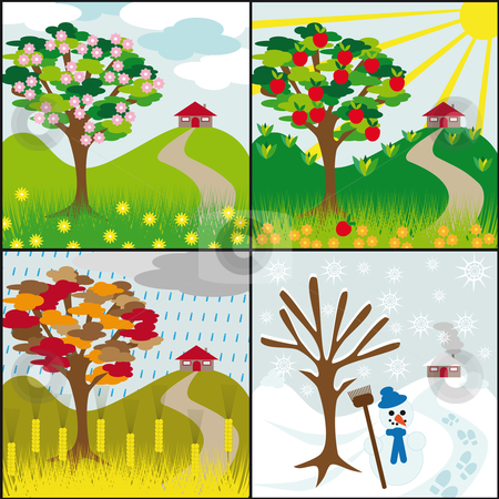 4 seasons images clipart picture black and white download Free Seasons Cliparts, Download Free Clip Art, Free Clip Art on ... picture black and white download