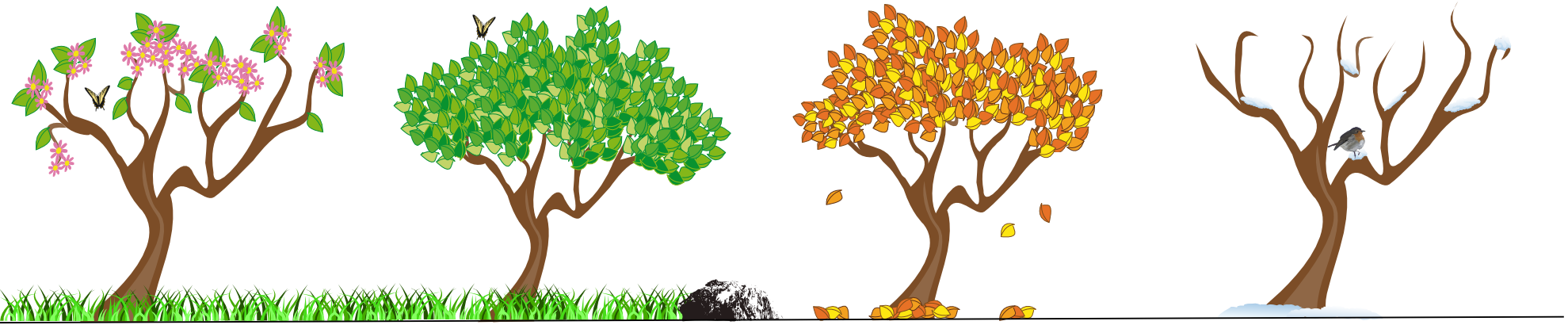 Seasons clipart pictures svg transparent Free Four Seasons Cliparts, Download Free Clip Art, Free Clip Art on ... svg transparent