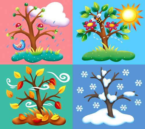Seasons board game clipart library clip art four seasons - Google Search | El tiempo | Brownie girl ... library