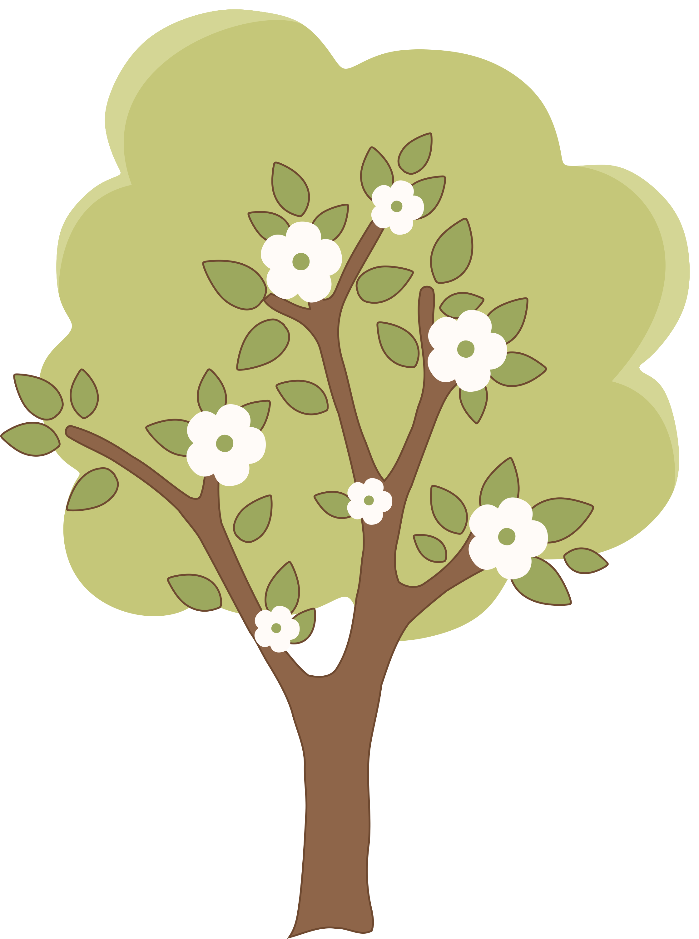 4 seasons tree clipart graphic freeuse download Photo by @daniellemoraesfalcao - Minus | Clip Art-Flowers/Bugs ... graphic freeuse download