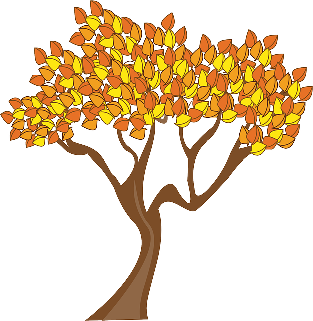 Education tree clipart transparent library Free Image on Pixabay - Autumn, Season, Tree, Leaves | Month weather ... transparent library