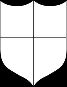 Heraldic Shield Clip Art at Clker.com - vector clip art online ... clipart transparent library