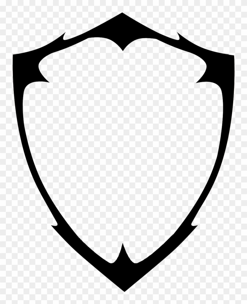 Blank shield clipart 4 » Clipart Portal clipart freeuse library