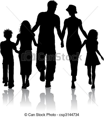4 siblings clipart with 3 girls and 1 boy vector library Family Illustrations and Clipart. 148,580 Family royalty free ... vector library