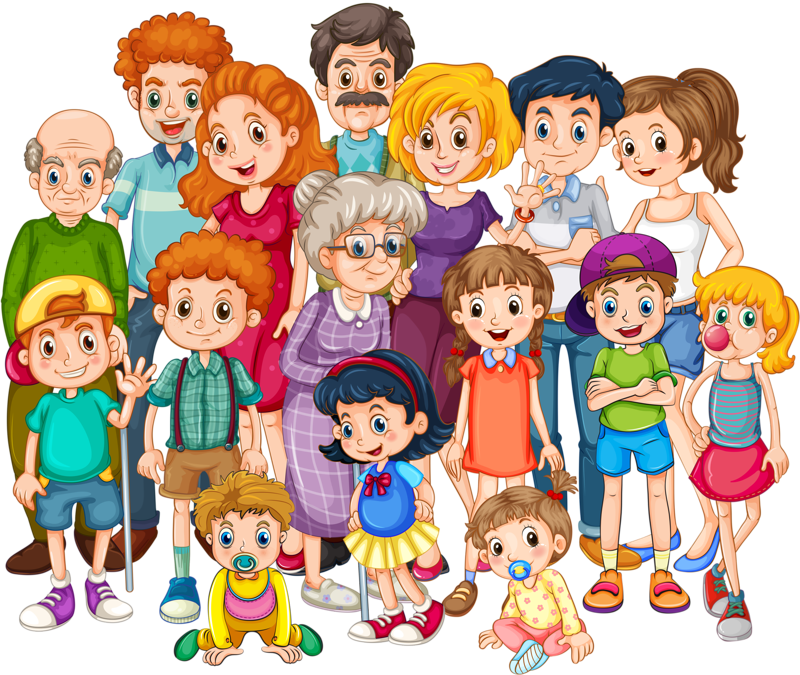 4 siblings clipart with 3 girls and 1 boy image library stock 19qo_s6ln_150403 [преобразованный].png | Pinterest | Family ... image library stock