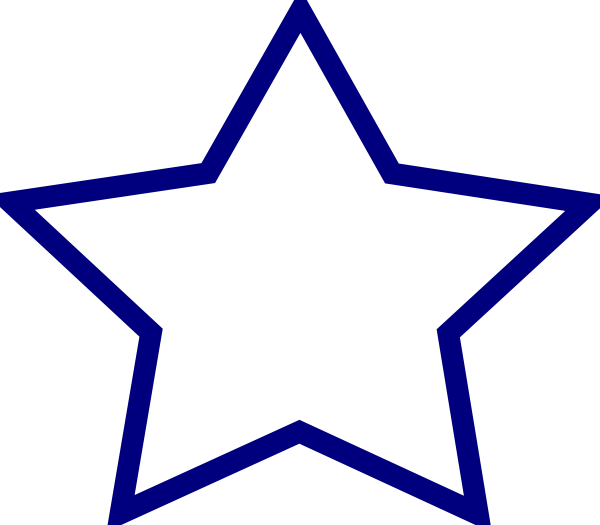 Star clipart blue picture royalty free library Blue Star Clip Art at Clker.com - vector clip art online, royalty ... picture royalty free library