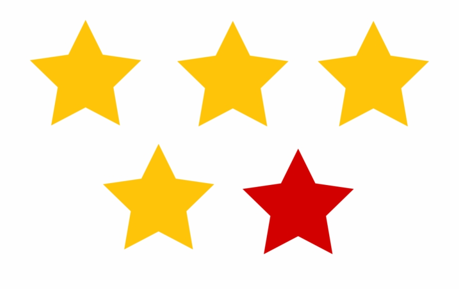 4 star dragonball clipart vector free 4 Yellow 1 Red Star Rating Clipart Photos - Black 4 Star Dragon Ball ... vector free