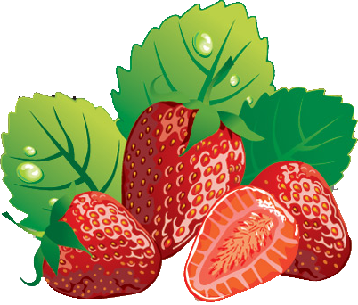 4 strawberries clipart png free library Free strawberry clipart fruit clip art - ClipartPost png free library