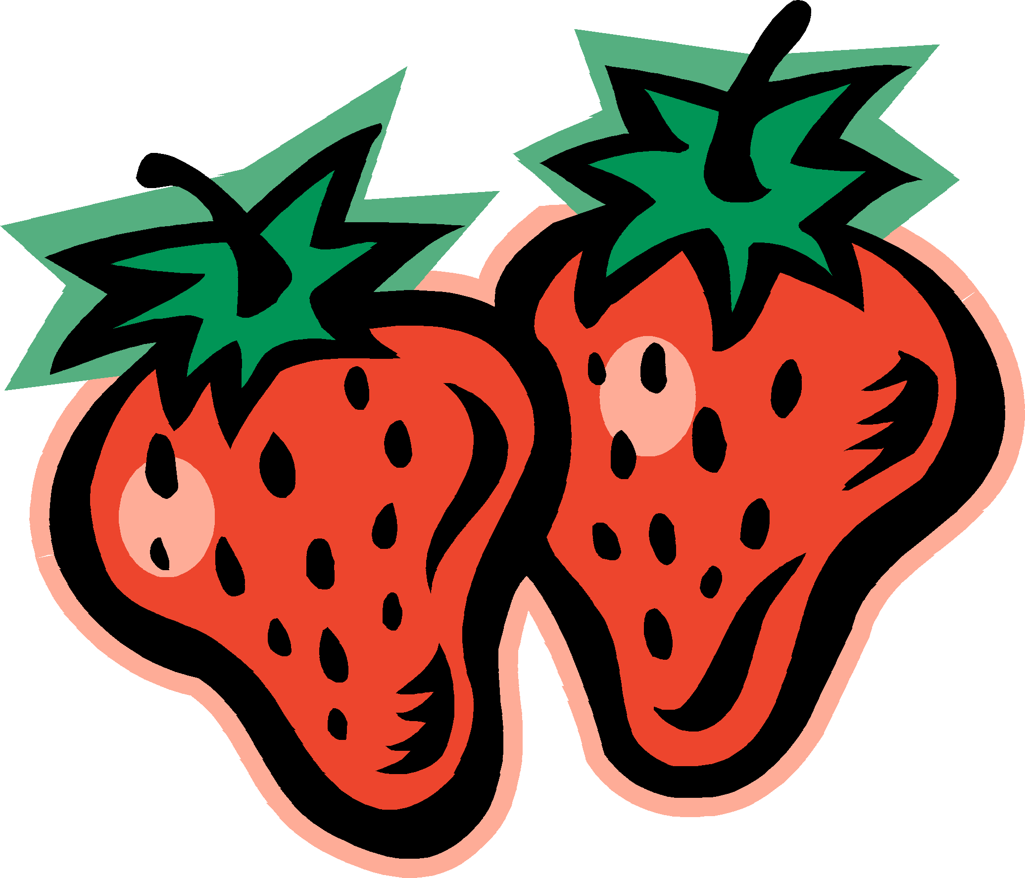 4 strawberries clipart clipart royalty free Strawberry clip art clipart 4 - WikiClipArt clipart royalty free