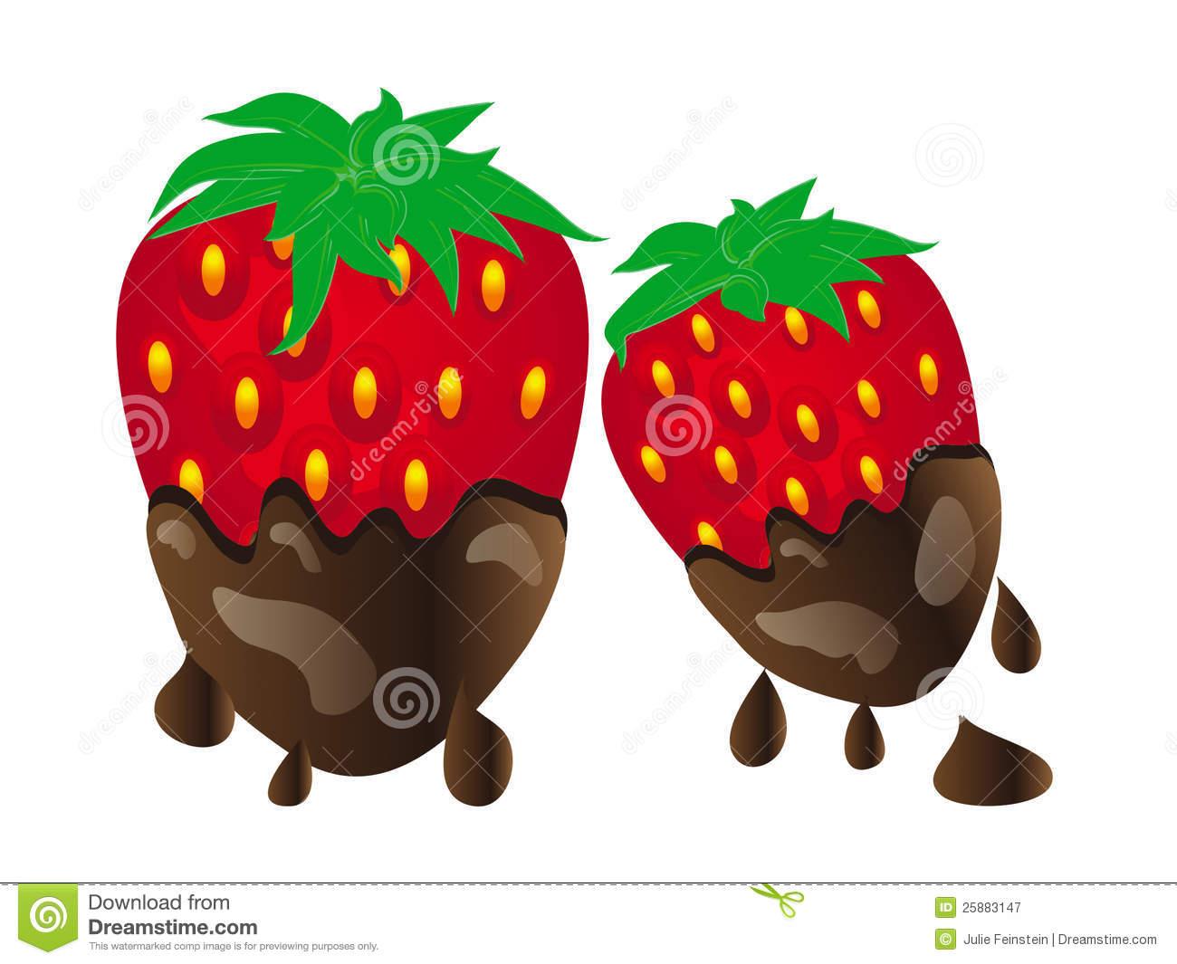 4 strawberries clipart free stock Chocolate covered strawberries clipart 4 » Clipart Station free stock