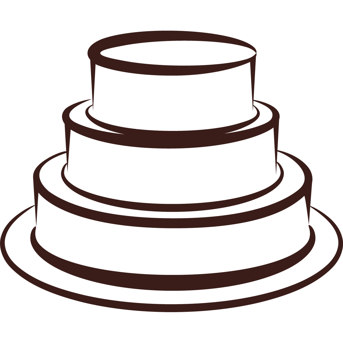4 tiered cake clipart graphic library Free Tiering Cliparts, Download Free Clip Art, Free Clip Art on ... graphic library