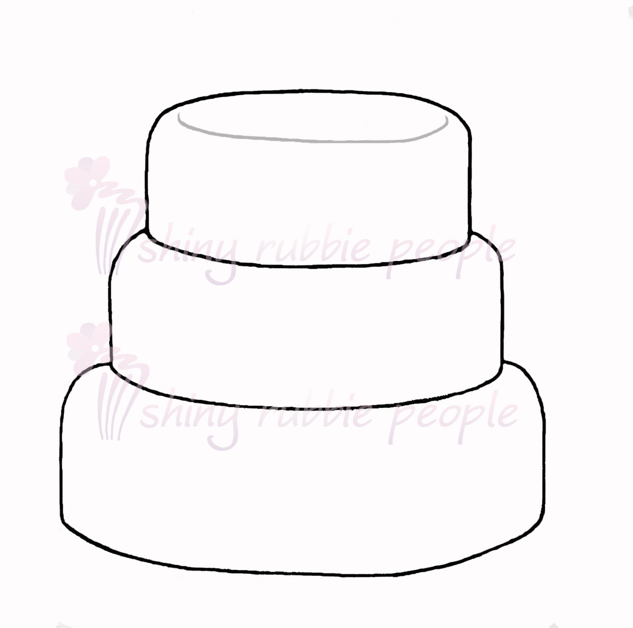 Two tiered cake clipart black jpg transparent library Tiered Cake Clipart | Free download best Tiered Cake Clipart on ... jpg transparent library