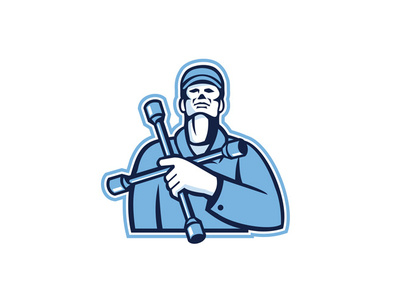 4 way wrench clipart