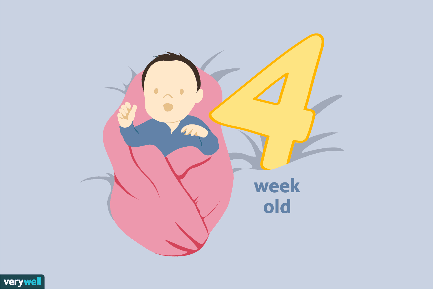 4 weeks clipart png free stock Your 4-Week-Old Baby: Development & Milestones png free stock