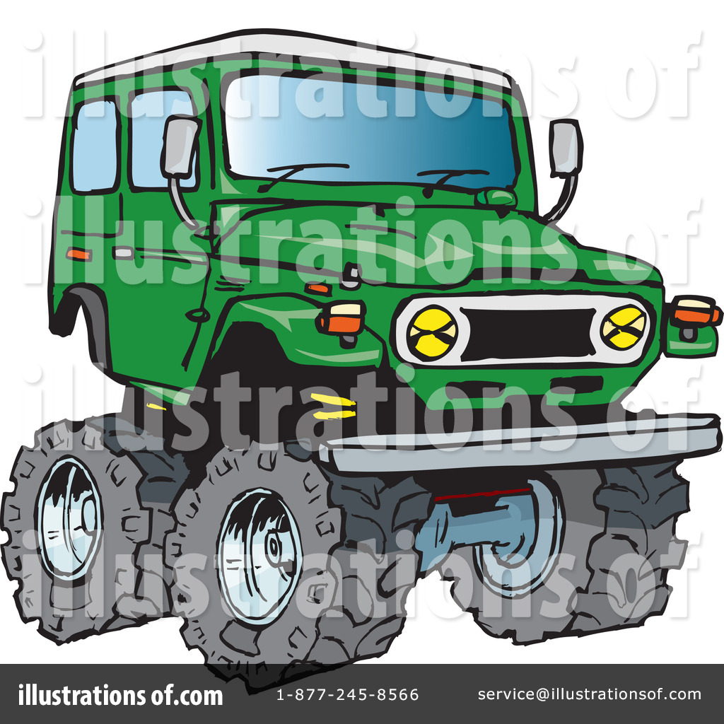 4 wheel drive clipart clip art freeuse download 4 Wheel Drive Clipart #217264 - Illustration by Dennis Holmes Designs clip art freeuse download