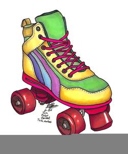 4 wheel roller skate clipart jpg black and white download Scrapbooking Clipart Roller Skates | Free Images at Clker.com ... jpg black and white download