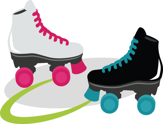 Skate night clipart graphic transparent library Free Picture Of A Roller Skate, Download Free Clip Art, Free Clip ... graphic transparent library